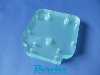 acrylglas plexiglas xt klar st rke 3mm 200x200mm 20x20cm ebay. Black Bedroom Furniture Sets. Home Design Ideas