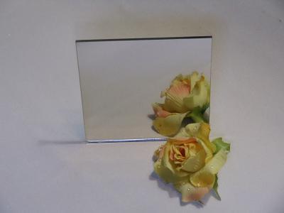 plexiglas acrylglas spiegel 3mm silber 20x20cm ebay. Black Bedroom Furniture Sets. Home Design Ideas